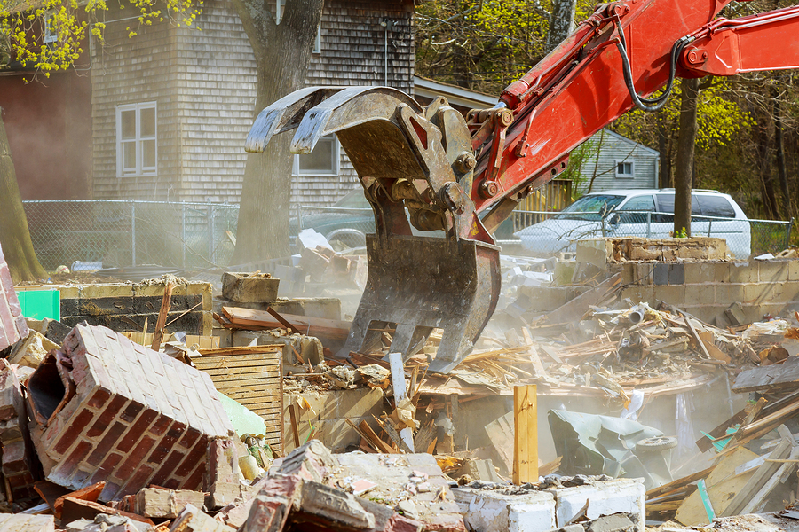 removing the house demolish